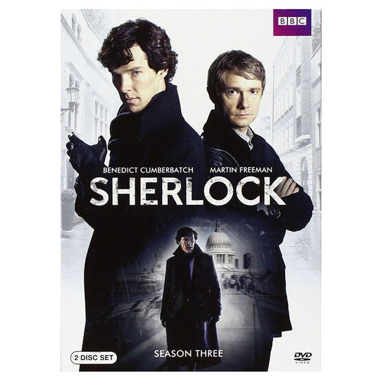 Sherlock Season Three - DVD
