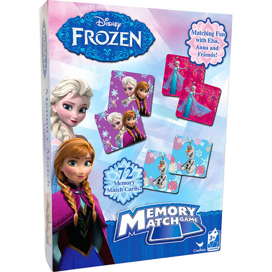 Disney Frozen Memory Match Game