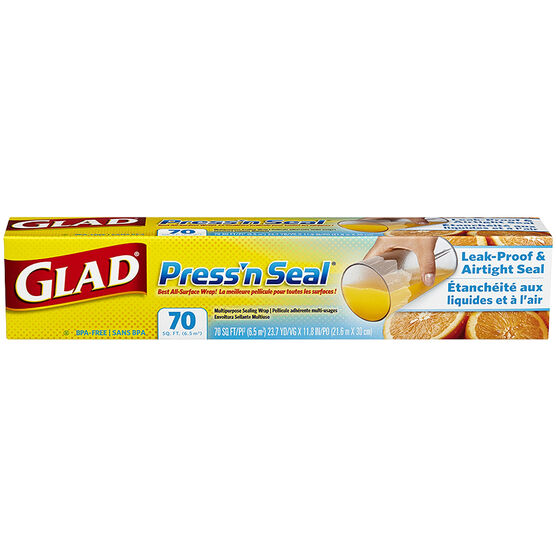 Glad Press'n Seal - 75 sq. ft.