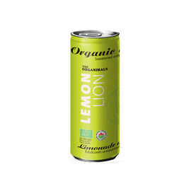 the Organinmals Organic Soda - Lemon Lion - 250ml