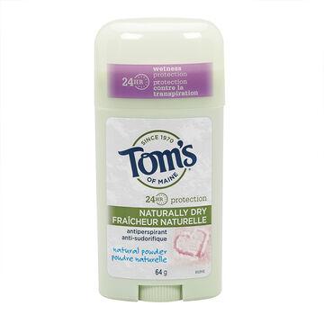 Tom's of Maine Antiperspirant - Natural Powder - 64g