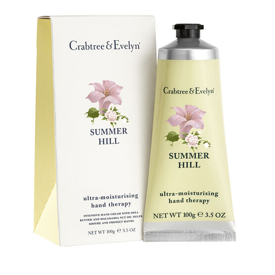 Crabtree & Evelyn Summer Hill Ultra-Moisturising Hand Therapy - 100g