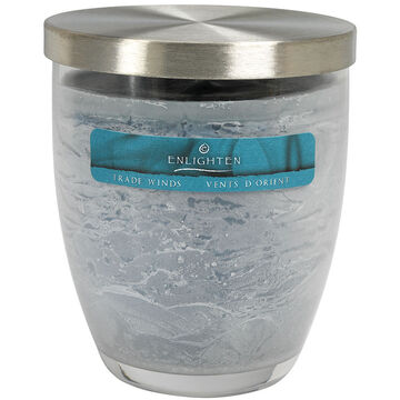Wax Jar Candle with Lid  - Trade Winds - 10oz