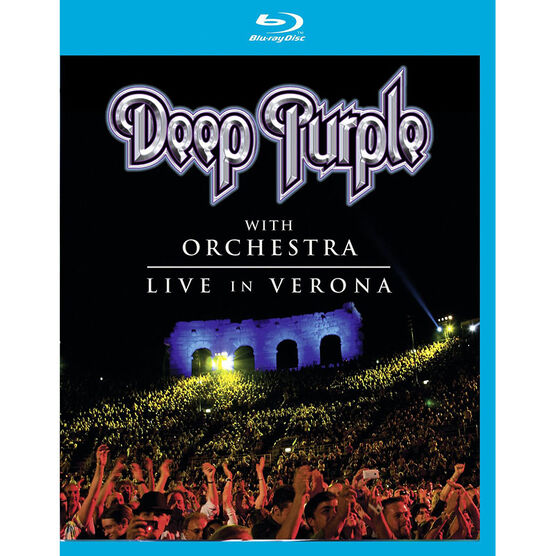 Deep Purple - Live In Verona - Blu-ray