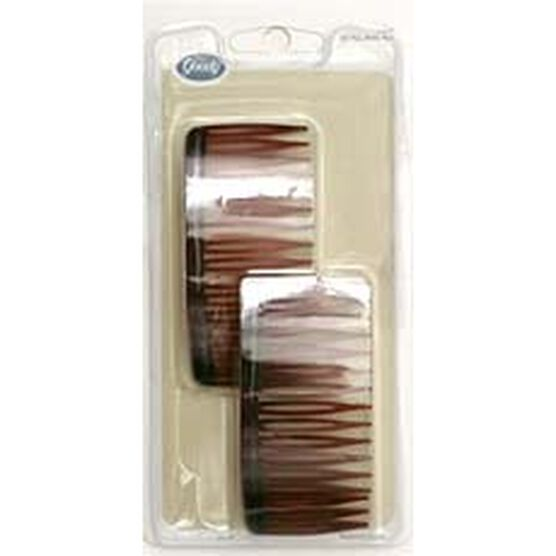 Goody Mock Tortoise Side Combs