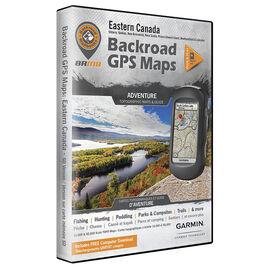 Backroad GPS Maps - Eastern Canada - 00945