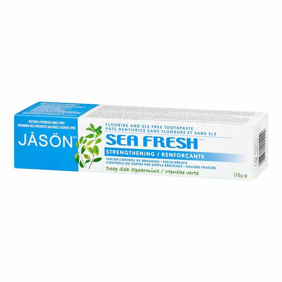 Jason Sea Fresh All Natural Sea Sourced Toothpaste - 170g