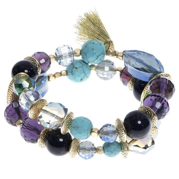 Lonna & Lilly Beaded Stretch Bracelet - Multi
