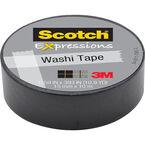 3M Scotch Expressions Washi Tape - Black