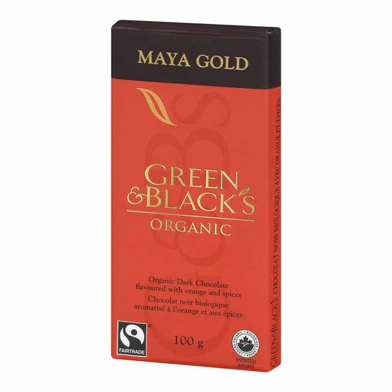 Green & Blacks Chocolate Bar - Maya Gold - 100g