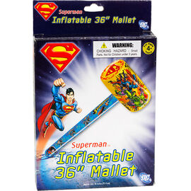 """Inflatable Superman Mallet - 36"""""""