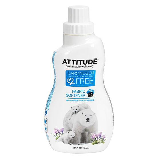 Attitude Fabric Softener - Wild Flowers - 1L/40 load