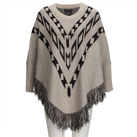 Guilty Poncho With Design - Assorted