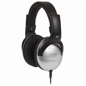 Koss Full Size Over Ear Headphone - Black/Silver - UR29