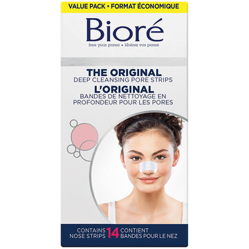 Biore Deep Cleansing Pore Strips - 14 nose strips