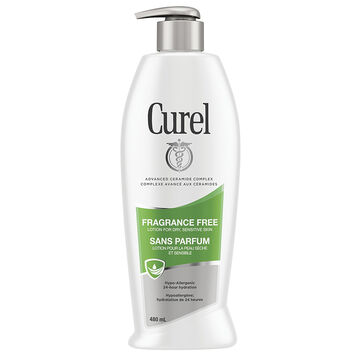 Curel Daily Moisture Fragrance Free Lotion - 480ml