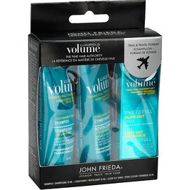 John Frieda Luxurious Volume -Travel Pack - 3 piece