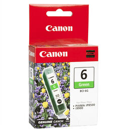 Canon BCI-6 Ink Tank - Green - 9473A003