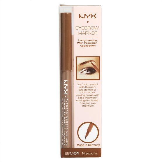 NYX Professional Makeup Eyebrow Marker - Medium