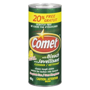 Comet with Bleach - Lemon Fresh - 480g