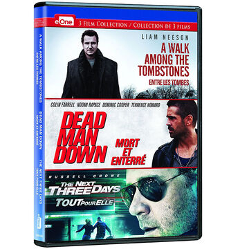 Three Film Action Collection - DVD