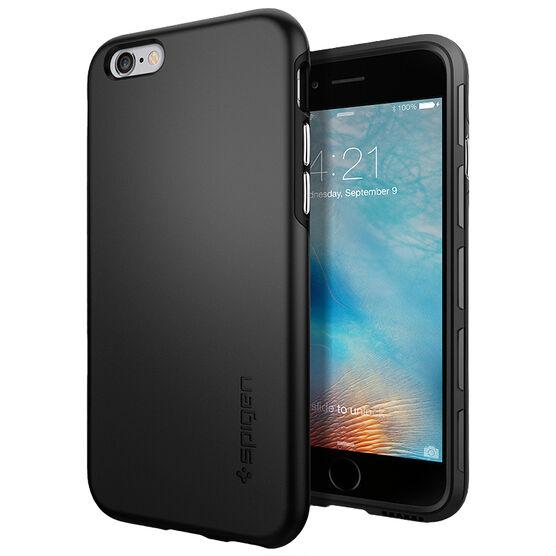 Spigen Thin Fit Hybrid Case for iPhone 6/6s - Black - SGP11730