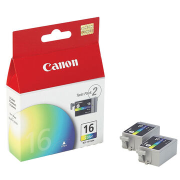 Canon BCI-16 Colour Ink Cartridge - Twin Pack - 9818A003