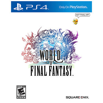 PRE-ORDER: PS4 World of Final Fantasy