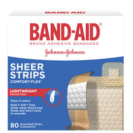 J&J Plastic Band-Aids - Assorted - 80's