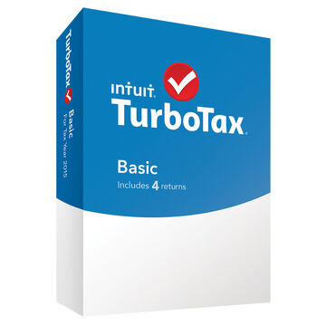 Intuit TurboTax Basic for Tax Year 2015 - 4 Returns