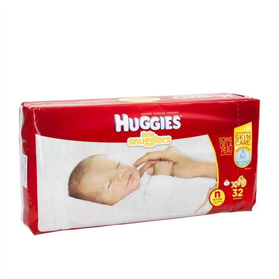 Huggies Little Snugglers Disposable Diaper - Newborn - 32's