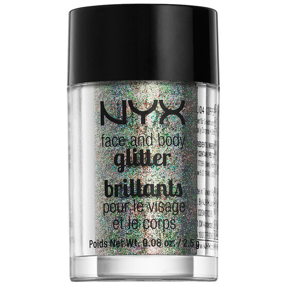 NYX Face and Body Glitter - Crystal
