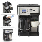 Hamilton Beach 2-Way Deluxe Coffeemaker - Black - 49983C