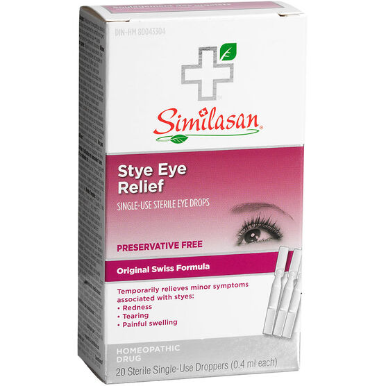 Similasan Stye Eye - 20 x .4ml