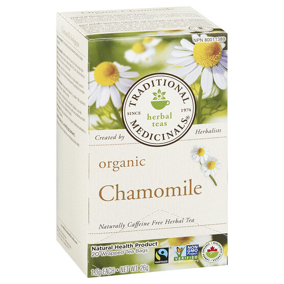 Traditional Medicinals Herbal Tea - Organic Classic Chamomile - 20's