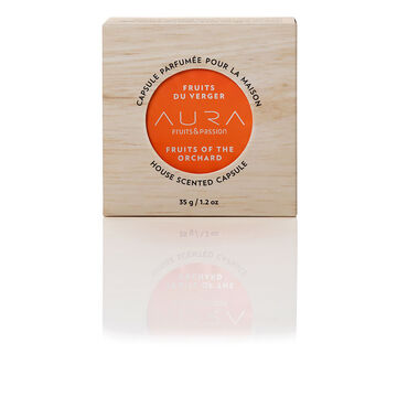 Fruit & Passion Aura House Scented Wax Capsule - Fruits of the Orchard