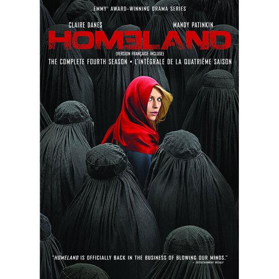 Homeland: Season 4 - DVD