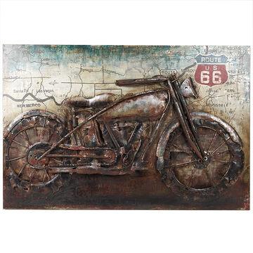 London Drugs Metal Print Vintage Motorcycle