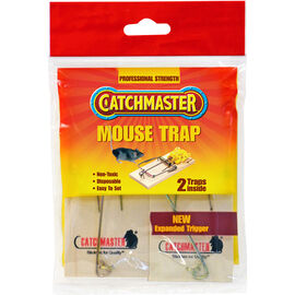 Catchmaster Mouse Snap Traps - 2 Pack