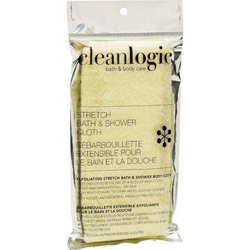 Cleanlogic Bath & Body Care Stretch Bath & Shower Cloth - Assorted
