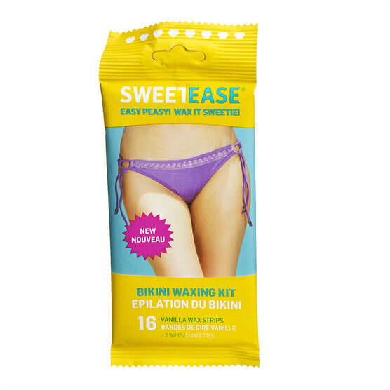 Sweet Ease Bikini Waxing Kit - 16's