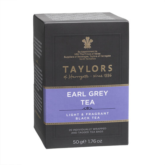 Taylors of Harrogate Tea - Earl Grey - 20's