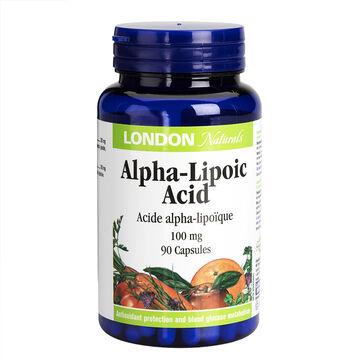 London Naturals Alpha Lipoic Acid - 100mg - 90's