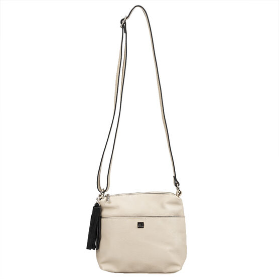 Roots Crossbody Purse with Tassel - Assorted - R4768N