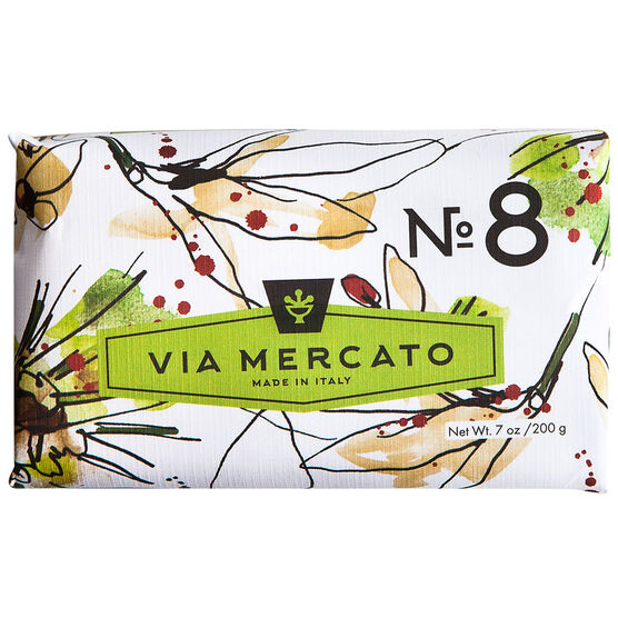Via Mercato Soap - Clove Vanilla Flower & Orange - 200g
