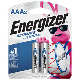 Energizer Ultimate Lithium AAA Battery - 2 pack
