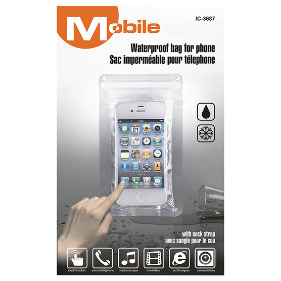 HRS Waterproof Phone Bag - Clear - IC3687