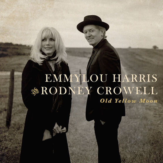 Emmylou Harris & Rodney Crowell - Old Yellow Moon - CD