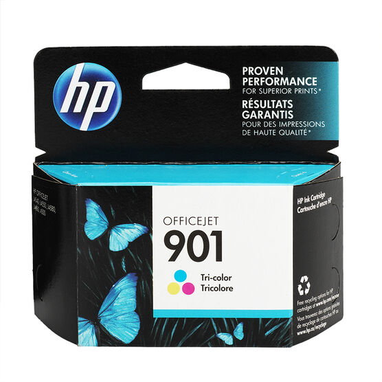 HP 901 Ink Cartridge - Tri-Colour - CC656AC-140
