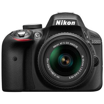 Nikon D3300 DX Body Only - Black